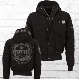 Yakuza Herren Winter Jacke Trade Of Kings 11027 schwarz