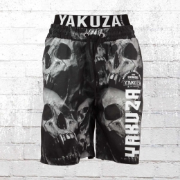 Yakuza Männer Badehose Muerte Skull Flex schwarz