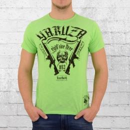Yakuza Männer T-Shirt Armed Society grün