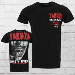 Yakuza Männer T-Shirt Game Over schwarz
