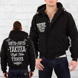 Yakuza Winterjacke WJB 9044 Hunter and Hunted Military schwarz