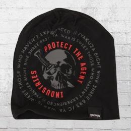 Yakuza Mütze Protect Beanie schwarz