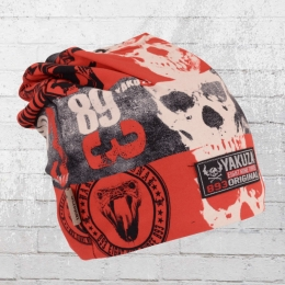 Yakuza Mütze Reel Beanie rot