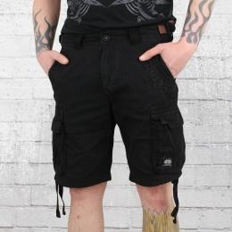 Yakuza Premium Cargo Shorts Herren schwarz