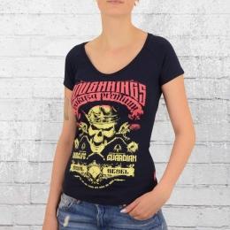 Yakuza Premium Frauen T-Shirt GS 2332 dunkelblau