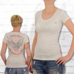 Yakuza Premium Frauen T-Shirt Worry Dolls 2333 natur weiss