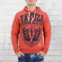 Yakuza Premium Herren Kapuzenpullover Kings Country 2029 rot