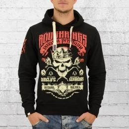 Yakuza Premium Herren Kapuzensweater Roughkings 2323 schwarz