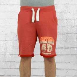 Yakuza Premium Herren Sweat Shorts Corcoran YPJO 2229 rot