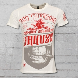 Yakuza Premium Herren T-Shirt Bad Guadians 2204 weiss