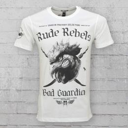 Yakuza Premium Herren T-Shirt Bad Guardian YPS 2101 weiss