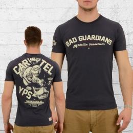 Yakuza Premium Herren T-Shirt Cartel 2219 dunkelgrau