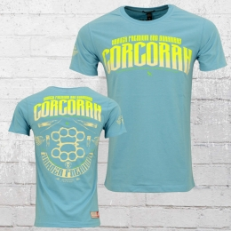 Yakuza Premium Herren T-Shirt Corcoran YPS 2214 hellblau