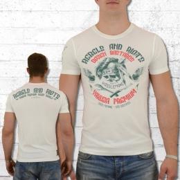Yakuza Premium Herren T-Shirt Dozen Bastards weiss