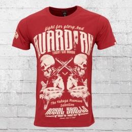 Yakuza Premium Herren T-Shirt Guardians YPS 2217 rot