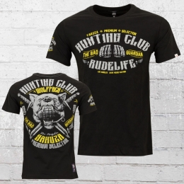 Yakuza Premium Herren T-Shirt Hunting Club schwarz
