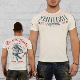 Yakuza Premium Male T-Shirt Maniac Joker white