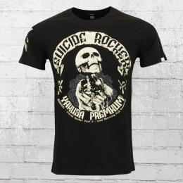 Yakuza Premium Herren T-Shirt Suizide Rocker 2300 schwarz