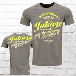 Yakuza Premium Herren T-Shirt Tiger YPS 2202 grau