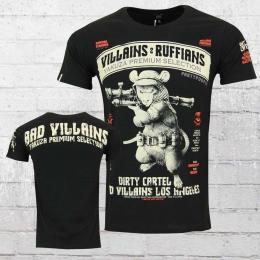 Yakuza Premium Herren T-Shirt Villians and Ruffians schwarz