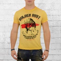 Yakuza Premium Male T-Shirt VIN 300 Golden Dust yellow