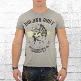 Yakuza Premium Herren T-Shirt Golden Dust VIN 300 grau