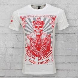 Yakuza Premium Herren T-Shirt Your Playtime Is Up YPS 2117 weiss
