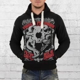 Yakuza Premium Male Hoody Sweat Animal Skull black