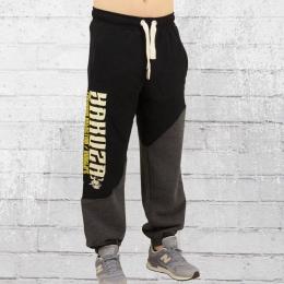 Yakuza Premium Männer Jogginghose Rudelife schwarz anthrazit