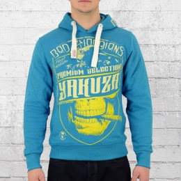 Yakuza Premium Männer Kapuzensweater Bad Guardian 2221 blau