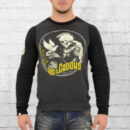 Yakuza Premium Male Sweatshirt Dove Skull black