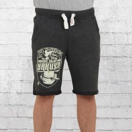 Yakuza Premium Männer Sweat Shorts YPJO 2228 grau