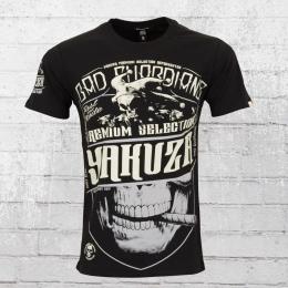 Yakuza Premium Männer T-Shirt Bad Guardians YPS 2204 schwarz