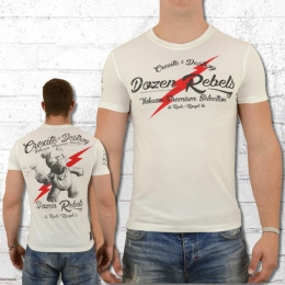 Yakuza Premium Männer T-Shirt Create and Destroy weiss