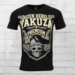 Yakuza Premium Männer T-Shirt Dozen Rebels schwarz