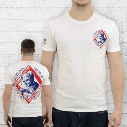 Yakuza Premium Männer T-Shirt Ironskin YPS 2011 naturweiss