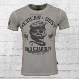 Yakuza Premium Männer T-Shirt Mexican Dust vintage grau