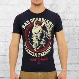Yakuza Premium Männer T-Shirt Pumkin Man YPS 2206 blau