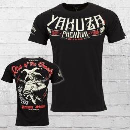 Yakuza Premium Männer T-Shirt Rise Of The Crooks schwarz