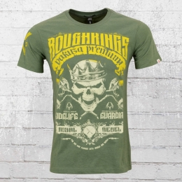 Yakuza Premium Männer T-Shirt Rough Kings oliv