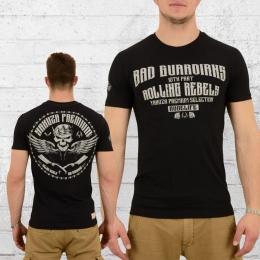 Yakuza Premium Männer T-Shirt Skull King YPS 2208 schwarz