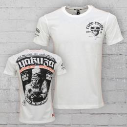 Yakuza Premium M�nner T-Shirt Trouble Entertainment YPS 2100 weiss