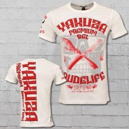 Yakuza Premium Rudelife T-Shirt Herren weiss