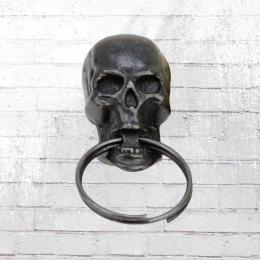 Yakuza Premium Schlüsselanhänger Skull mit Schlüsselring schwarz