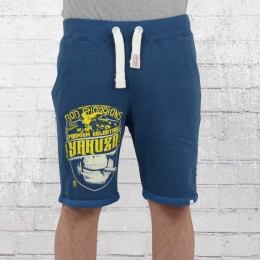 Yakuza Premium Shorts Männer Jogginghose kurz YPJO 2228 blau
