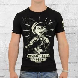 Yakuza Premium T-Shirt Bad Pinocchio schwarz