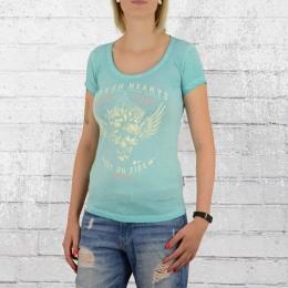 Yakuza Premium T-Shirt Broken Hearts türkis