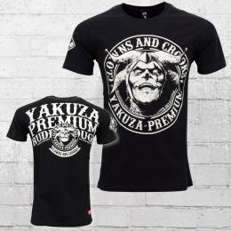 Yakuza Premium T-Shirt Clowns and Crooks YPS 2109 schwarz