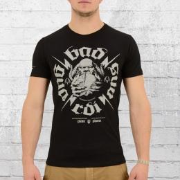 Yakuza Premium T-Shirt Herren 2203 Plata O Plomo schwarz