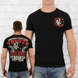 Yakuza Premium T-Shirt Herren Crooks schwarz